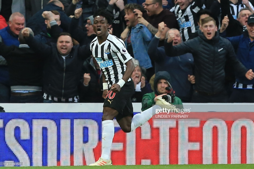 Christian Atsu grabs his first goal of the season for Newcastle United