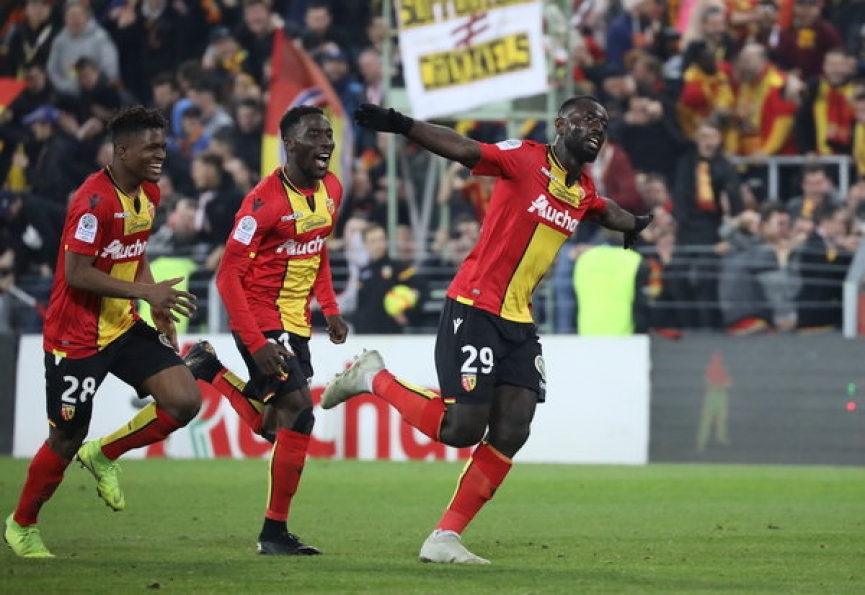 Ghana's Grejohn Kyei bags his 4th goal in RC Lens win over Niort