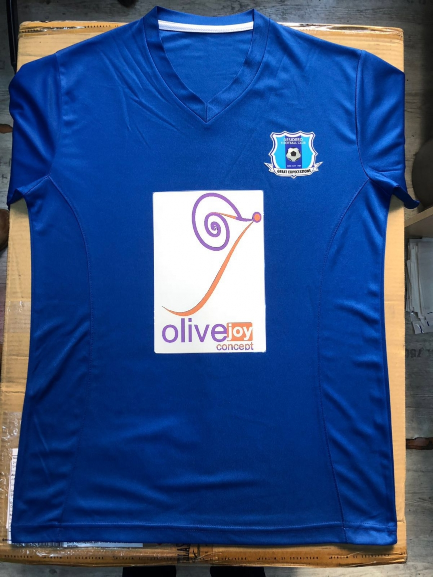 Ambitious Division Two League side Desidero FC unveil new jerseys for the new season
