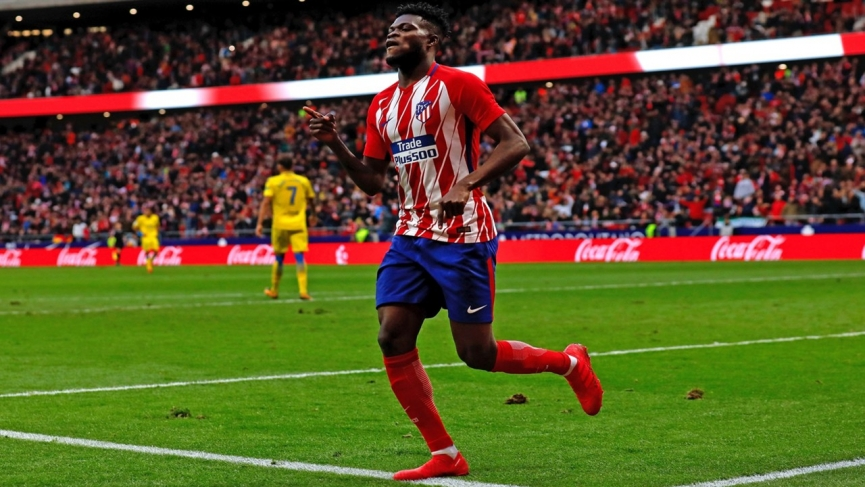 Thomas Partey scores, assists in Atletico Madrid dramatic win