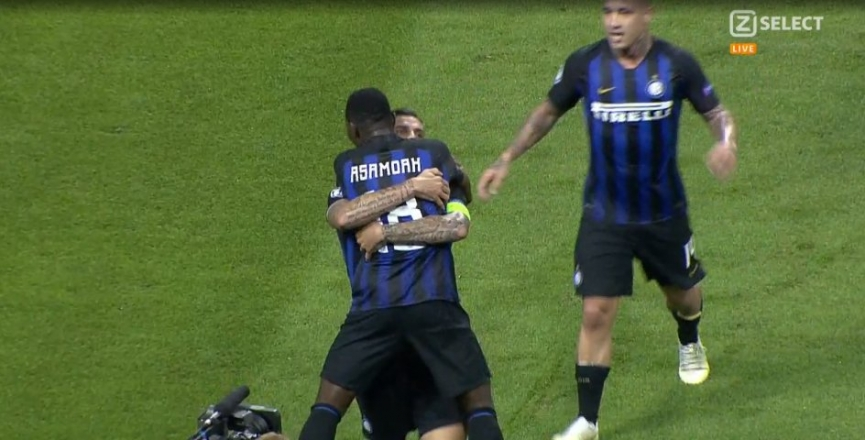 Kwadwo Asamoah provides assist as Inter beat Tottenham in Champions League opener