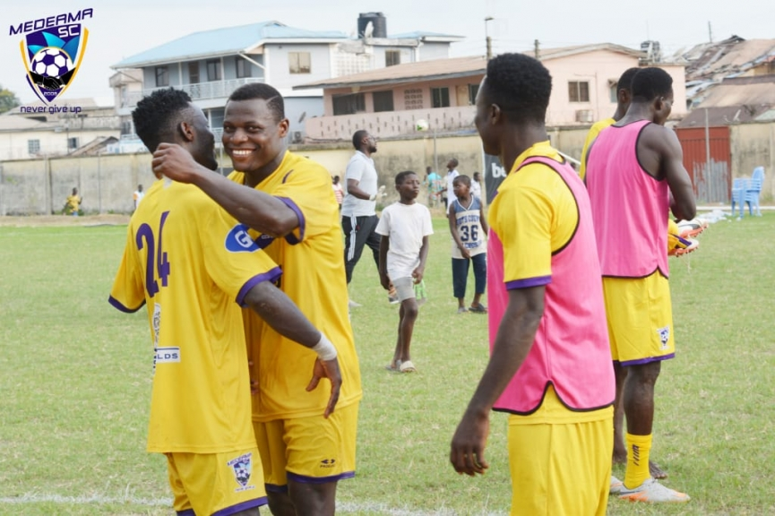 NC Special Cup Report: Medeama 2-0 Berekum Chelsea - Medeama secure another home win to keep semis hopes alive