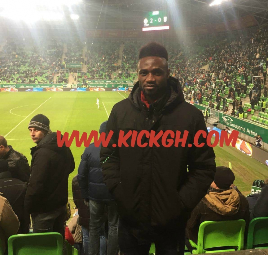Seth Paintsil watches his younger brother Joseph Paintsil in Ferencvaros TC home win