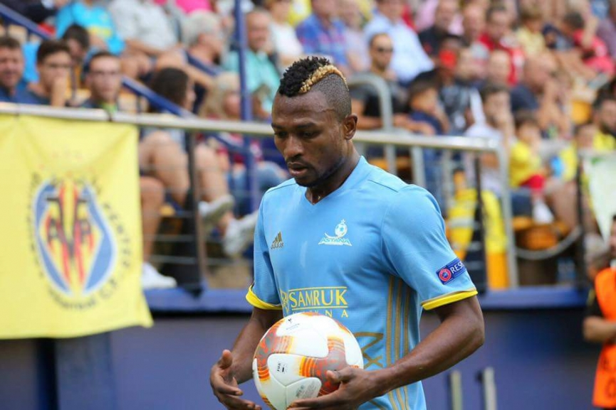 Patrick Twumasi scores to power FC Astana to victory