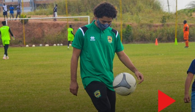 Brazilian midfielder Fabio Gama makes first appearance at Kotoko training (+PICTURES & VIDEOS)