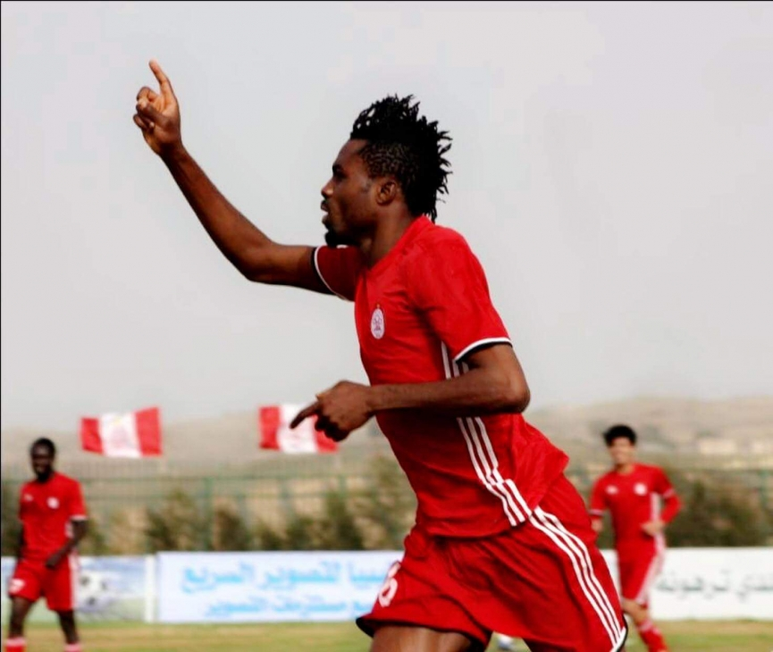 Kwame Kizito scores on Al-Ittihad debut