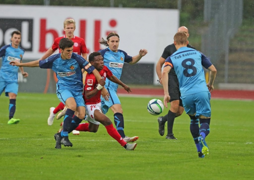 Issah Abass marks Mainz 05 debut in their friendly win over TuS Koblenz