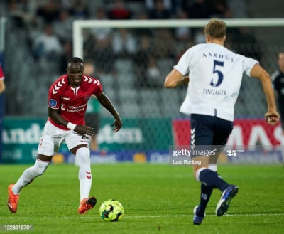 SUPER SUB: Raphael Dwamena strikes late to save Vejle BK from home defeat