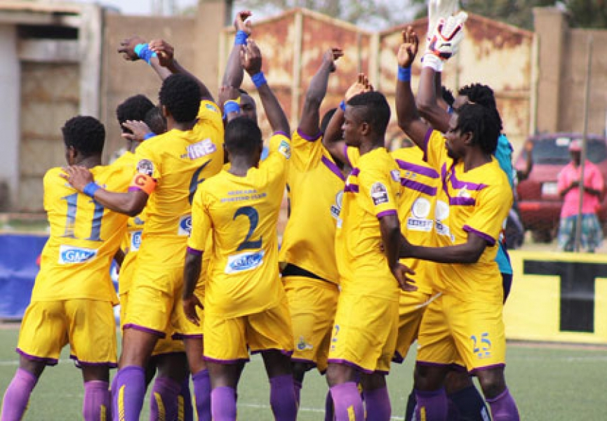 "MATCH REPORT: Medeama SC 1-0 Karela FC- The ""mini"" Western derby ended in favour of the Yellow and Mauves"