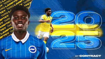 OFFICIAL: Ghana's Tariq Lamptey extends deal with Brighton & Hove Albion