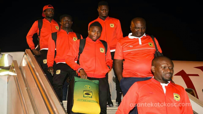 Kotoko to leave on Tuesday for Zesco match - Dr. Kyei reveals