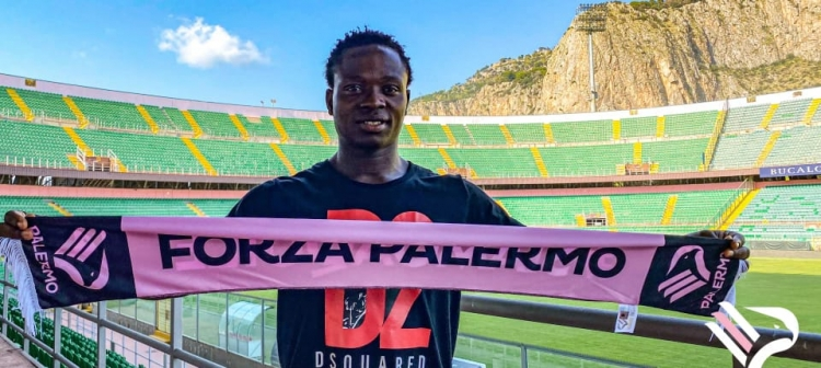 OFFICIAL: Moses Odjer seals Palermo FC deal
