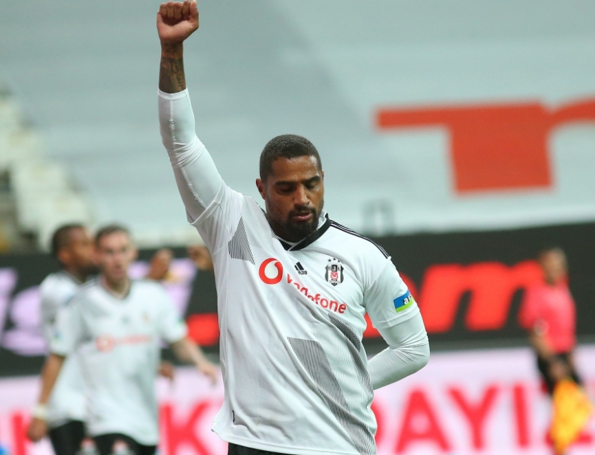 KP Boateng comes off the bench to score as Besiktas beat Kasimpasa in a five-goal thriller