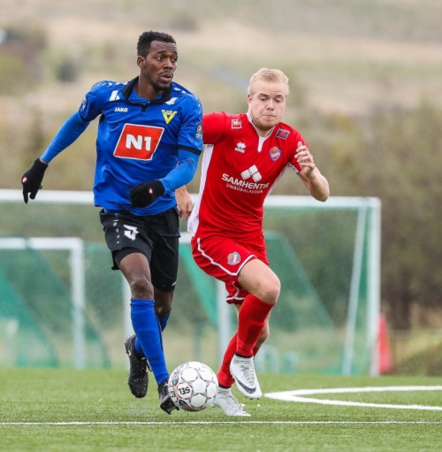 Eli Keke named in Icelandic Deildin League team of the week
