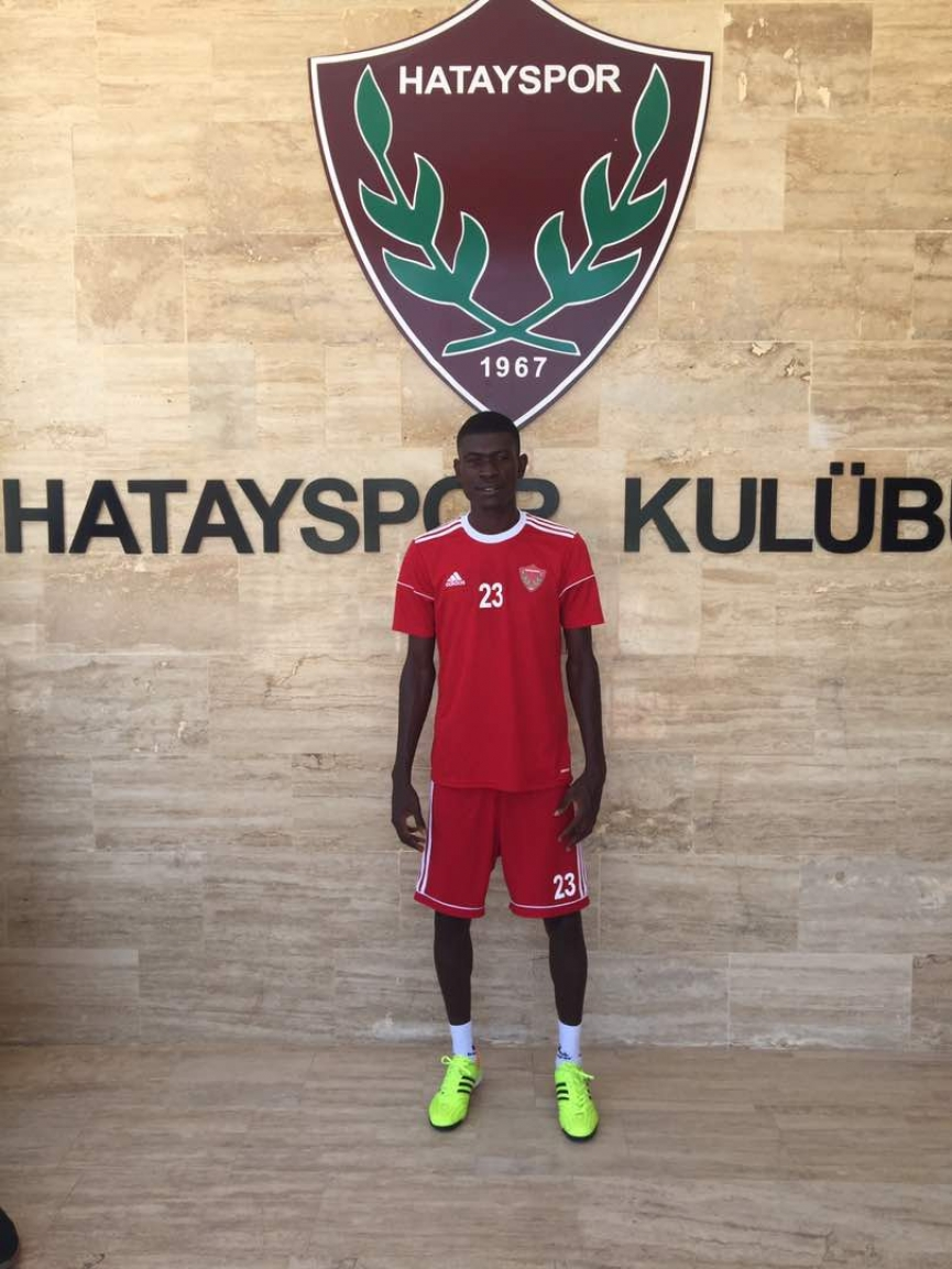 Youngster Stephen Arthur on trial at Turkish club Hatayspor