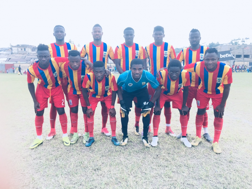 Hearts of Oak win Amankuma Festival Cup after Medeama SC victory
