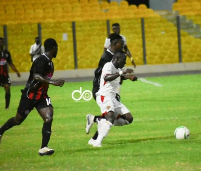 MATCH REPORT: Inter Allies pip 'rusty' Hearts of Oak at home