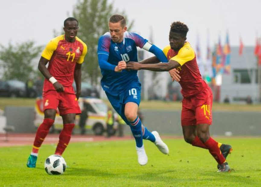 MATCH REPORT: Iceland 2-2 Ghana - Partey's late goal deny Iceland victory
