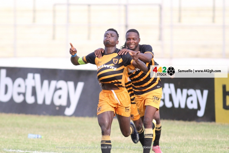 Watch the highlights of AshantiGold 1-0 over Hearts of Oak