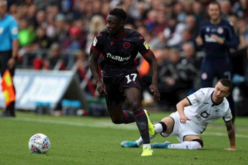 Andy Yiadom strikes late to snatch vital point for Reading FC