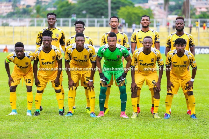 Ashanti Gold announce line up to face Akonangui FC today; Shafiu & others start