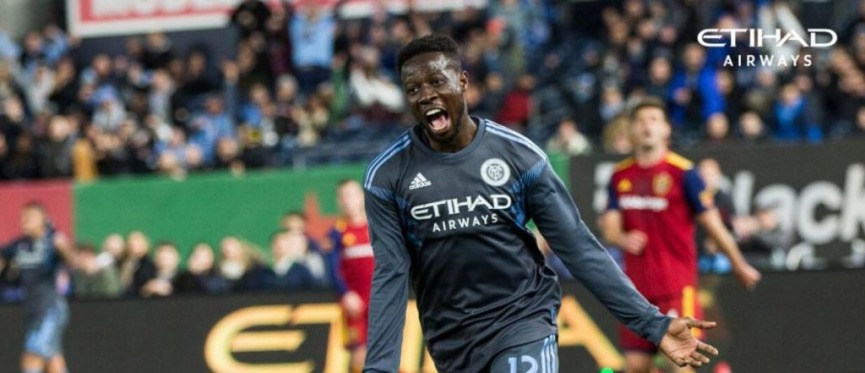 Ebenezer Ofori scores his first MLS goal for New York City FC