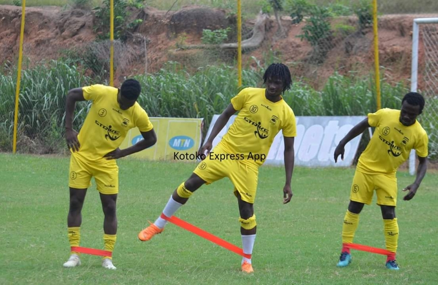 NC SPECIAL CUP: Kotoko striker Songné Yacouba begins training today ahead of Hearts clash