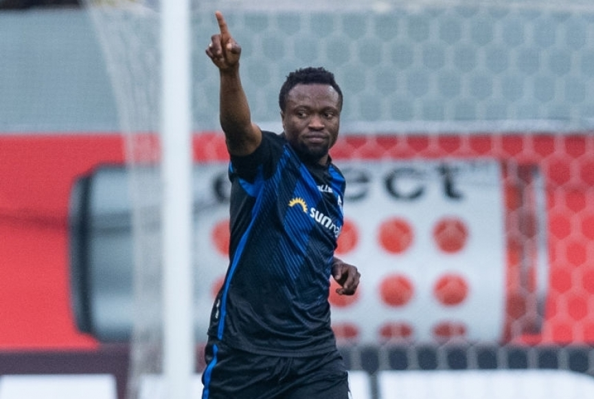 UNSTOPPABLE Bernard Tekpetey grabs his 9th goal for SC Paderborn
