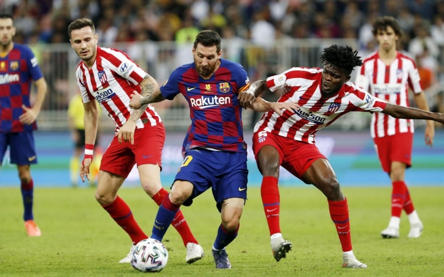 Thomas Partey excels as Atletico Madrid hold Barcelona at home