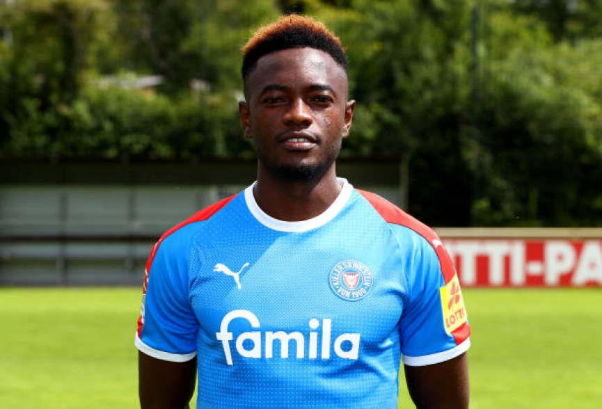 David Atanga scores and provide THREE assists in Holstein Kiel heavy win