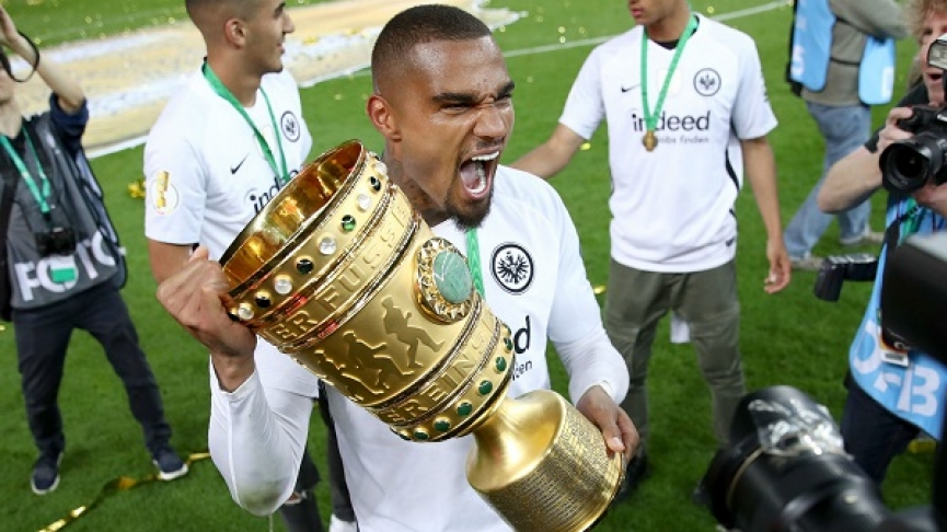 KP Boateng wins German DFB Pokal with Eintracht Frankfurt