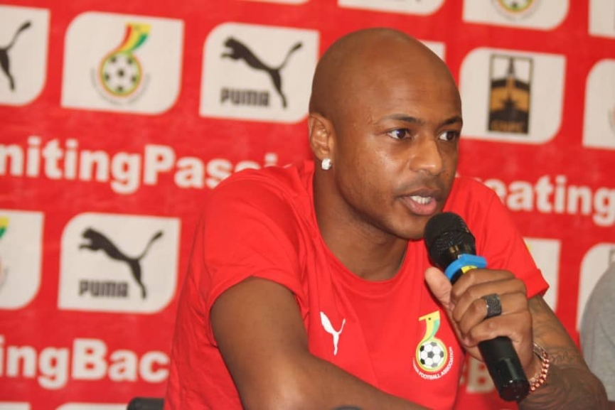We'll make Ghanaians proud again - Andre Ayew