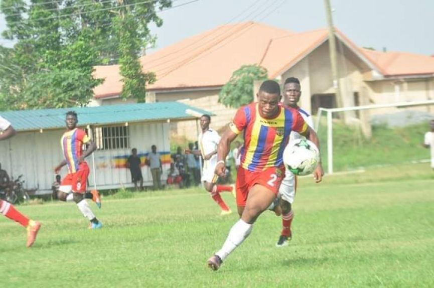 Hearts of Oak terminate contract of Selassie Bakai