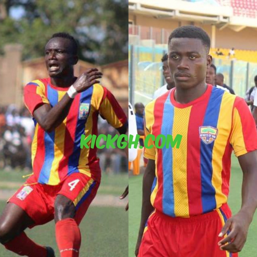 Special Competition: Hearts of Oak duo Daniel Kordie and Michelle Sarpong to miss Kotoko clash