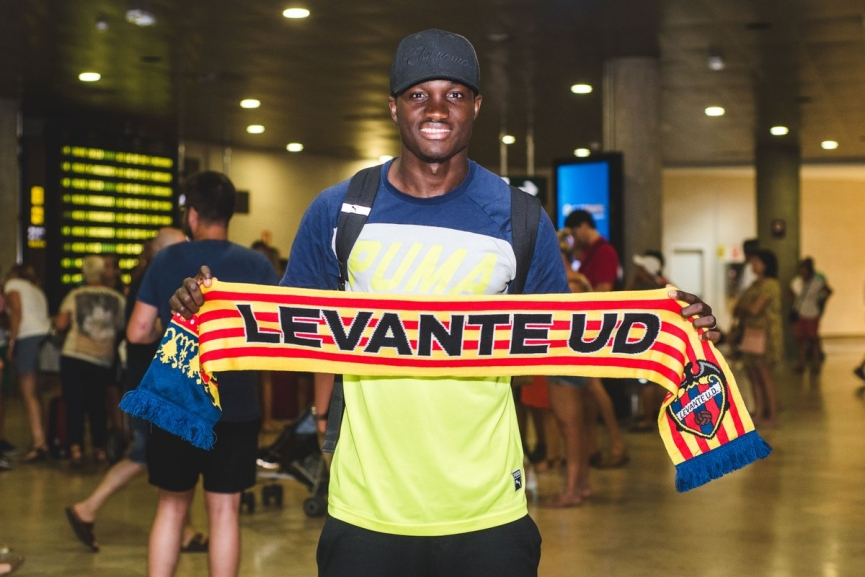 BREAKING: Raphael Dwamena signs for La Liga side Levante UD