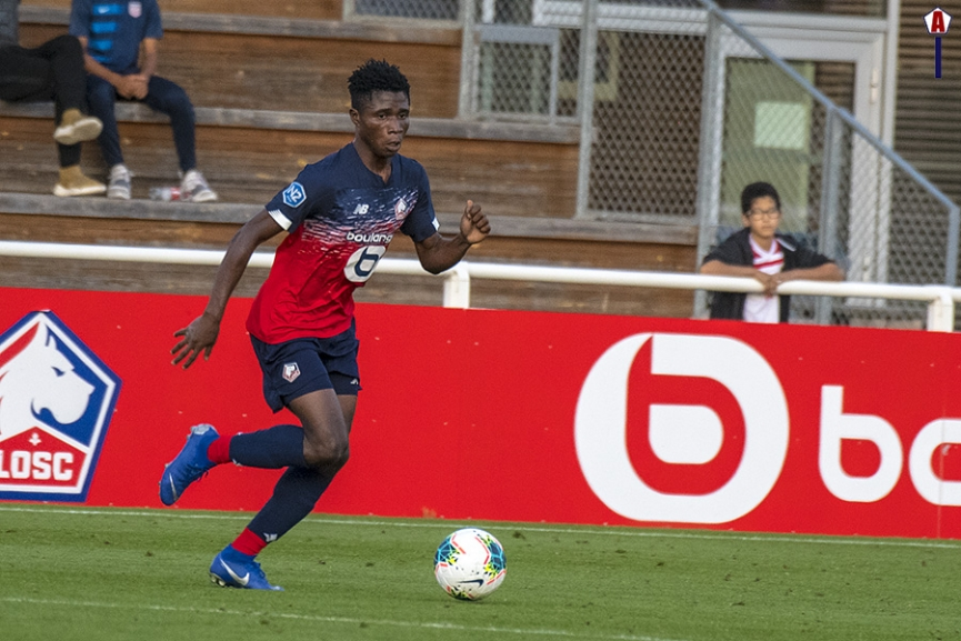 Ghanaian youngster Nana Antwi makes LOSC Lille debut