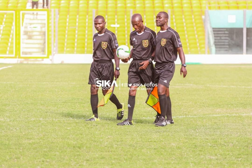 GFA ban another referee