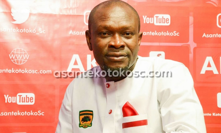 Coach CK Akunnor tasked to conquer Africa with Kotoko