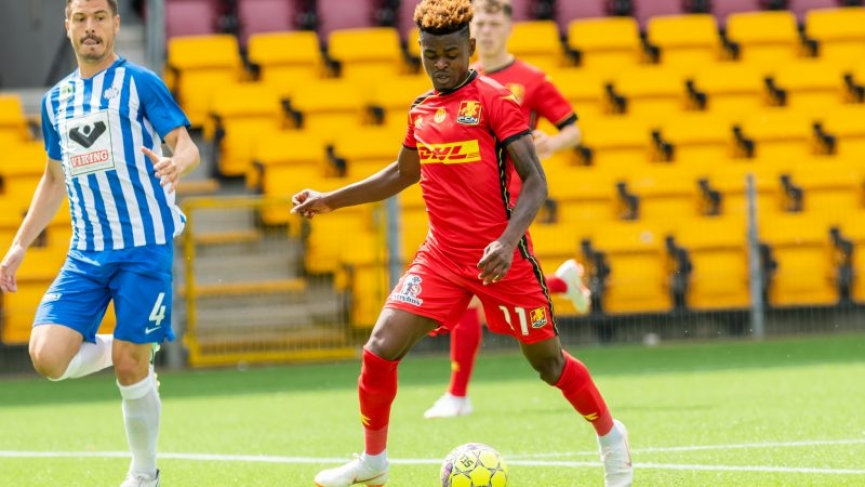 Godsway Donyoh scores for FC Nordjaelland in league opener