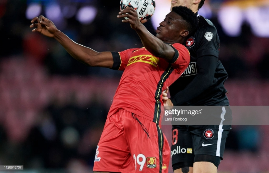 Ghana U20 star Kudus Mohammed scores his first goal to secure vital point for FC Nordsjaelland