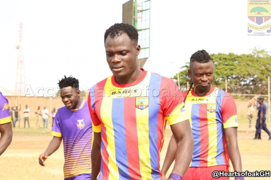 SAD: Inusah Musah tells his situation at Hearts of Oak