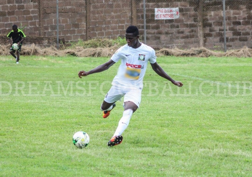 Dreams FC defender Ben Quansah joins Kosovo side FC Prishtina