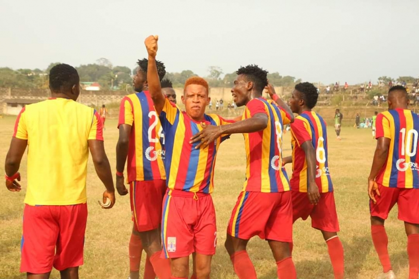 MATCH REPORT: Hearts of Oak beat Lions in a friendly