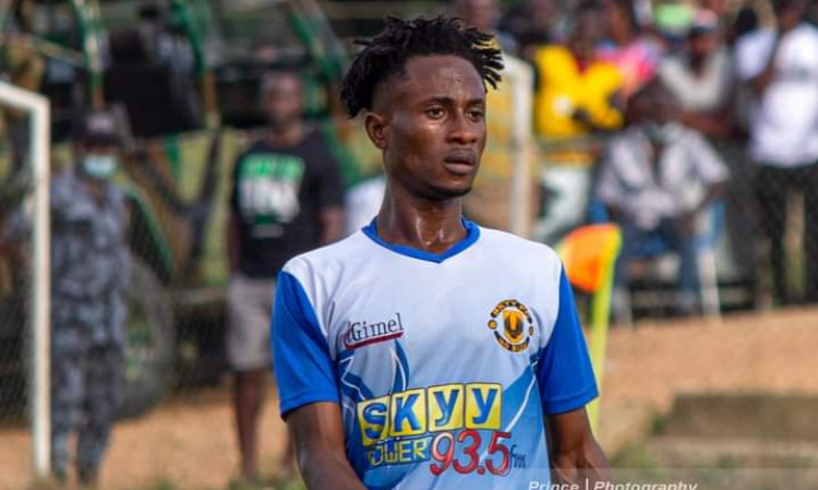 Ebenezer Acquah: Meet the rising star of Skyy FC