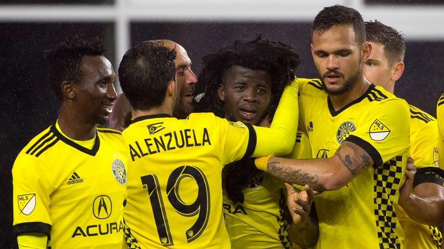 Lalas Abubakar powers Columbus Crew to victory with his late goal