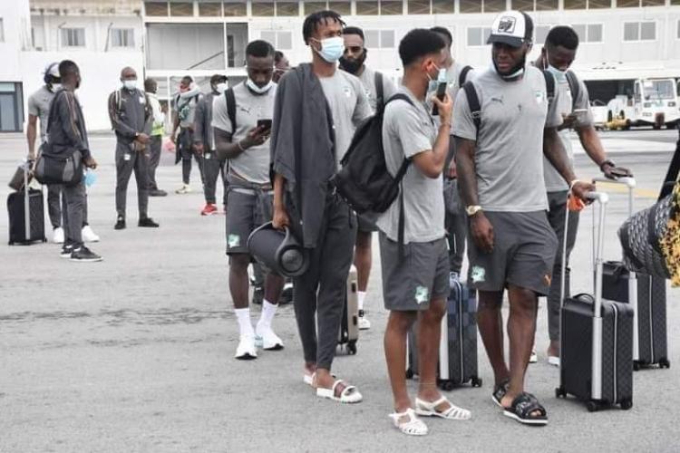Ivory Coast arrive in Ghana ahead of international friendly