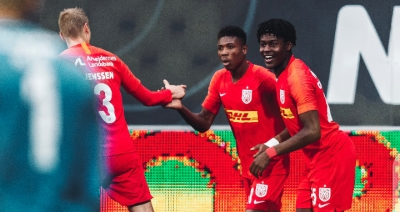 SUPER SUB: Ghanaian kid Abu Francis strikes late to rescue FC Nordsjaelland from defeat