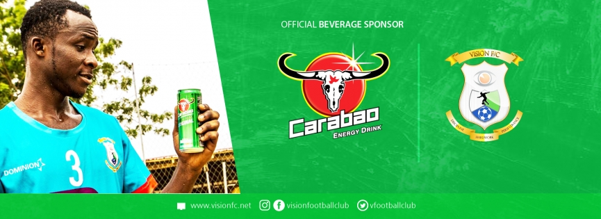 Ambitious Division One League club Vision FC land Sponsorship deal with Carabao