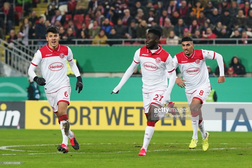 Nana Ampomah scores in Fortuna Düsseldorf big win