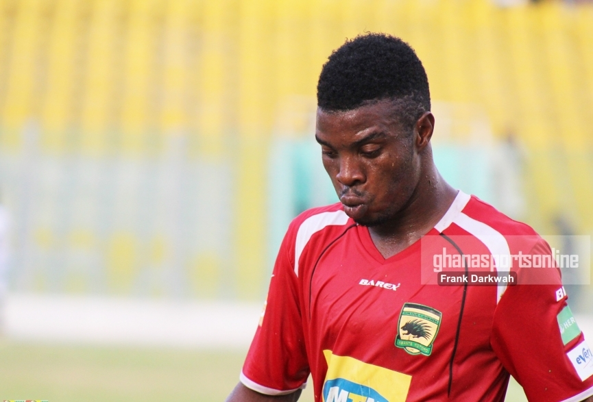 Ollenu Ashitey starts training with Ashanti Gold; set to sign a deal